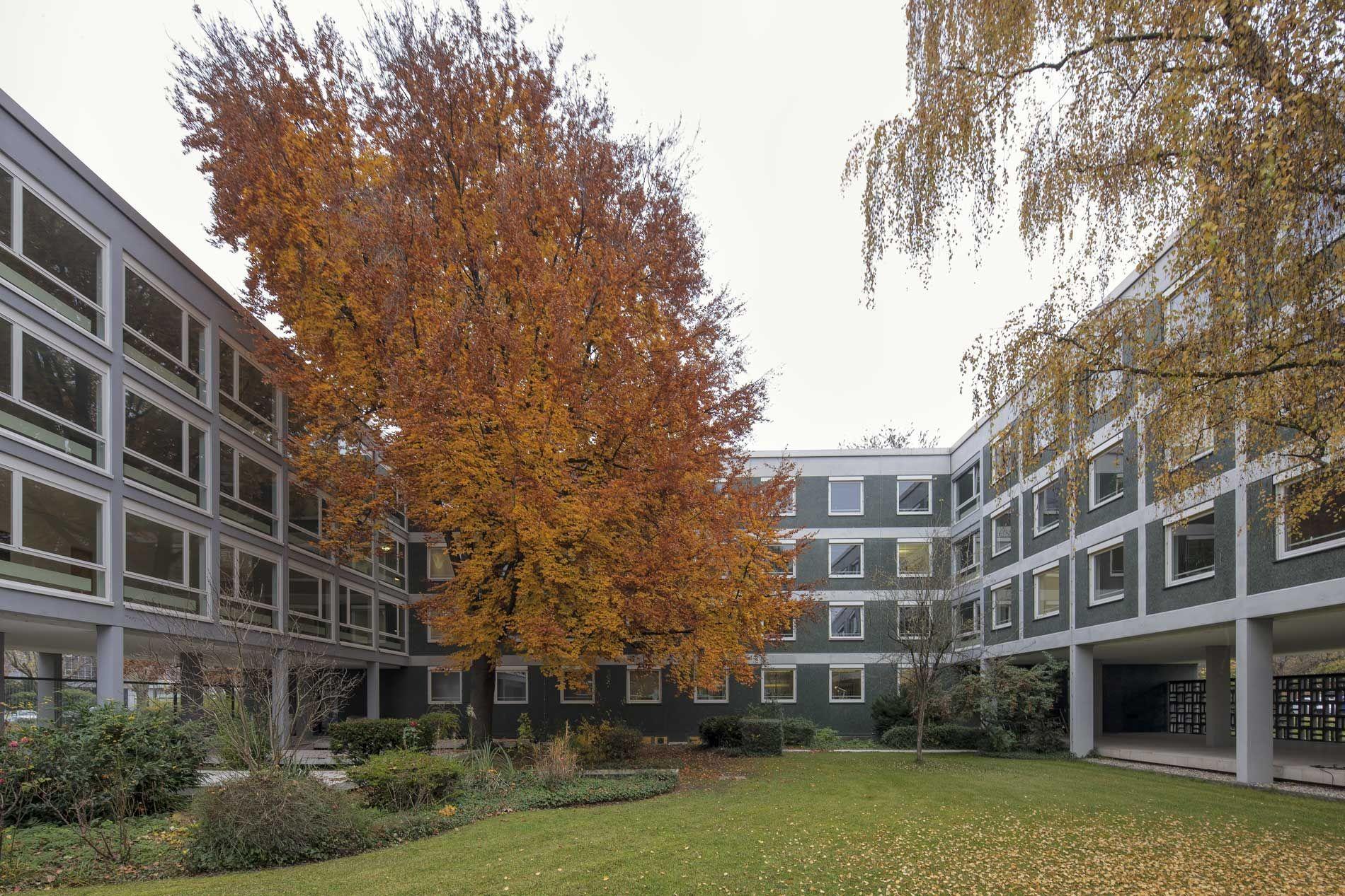 Innenhof des Hessischen Ministeriums der Finanzen
