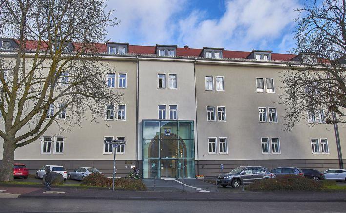 Finanzamt Bad Homburg (Quellenangabe: OFD)