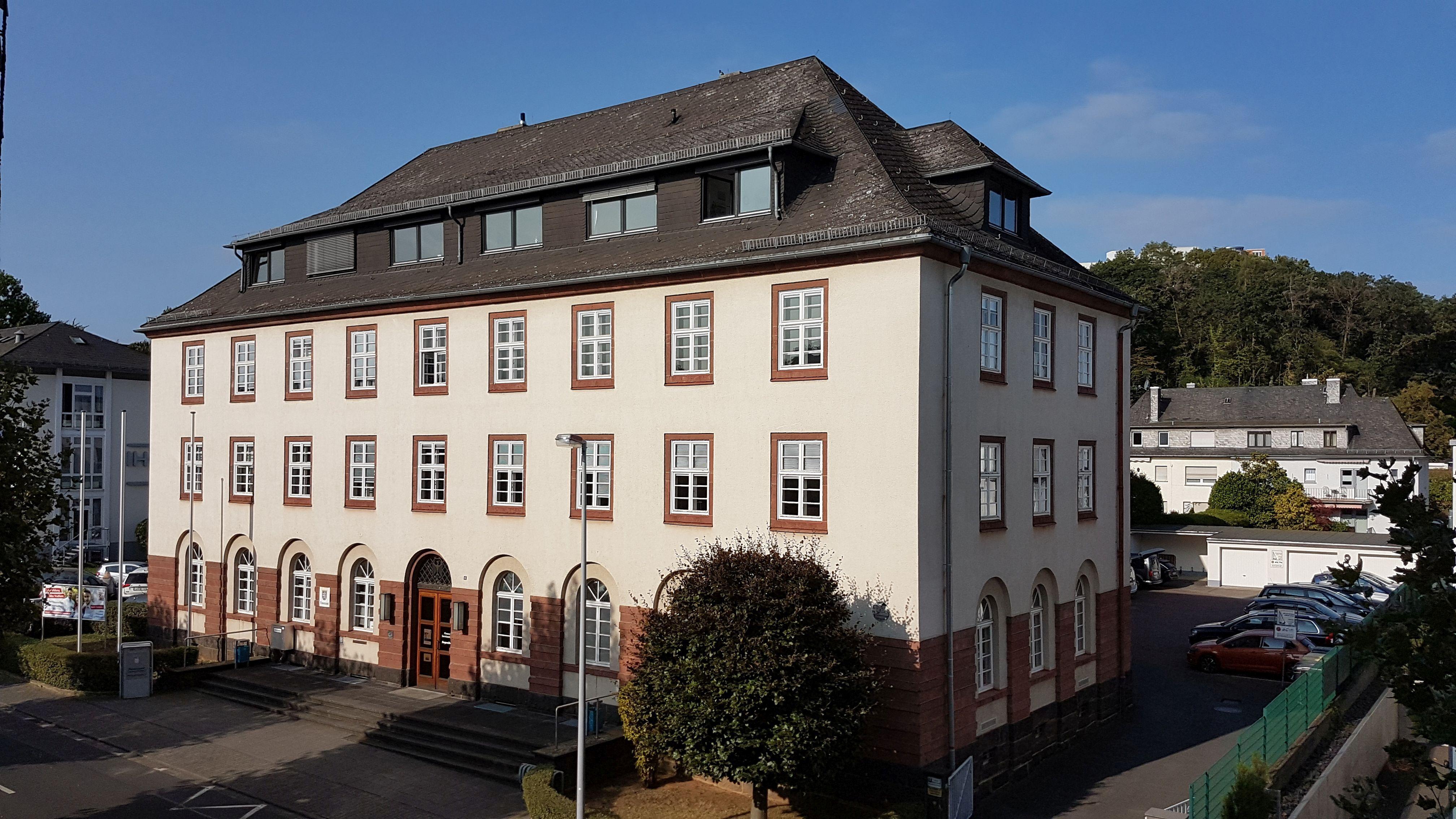 Dienstgebäude des Finanzamts Limburg-Weilburg